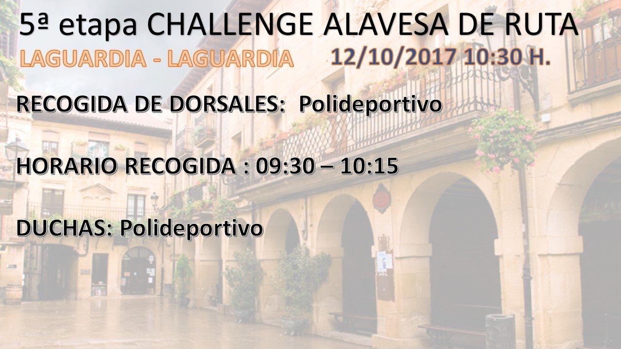 5º prueba I CHALLENGE ALAVESA MASTER, FEMINAS, *SUB-23 y *ELITE (*sin equipo)-3ª prueba