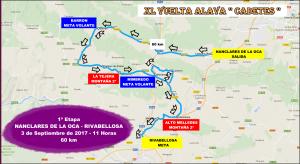 1ª etapa XL VUELTA A ALAVA