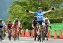 El corredor alavés Jon Aberasturi se impone en la cuarta etapa de la Vuelta a Japón.