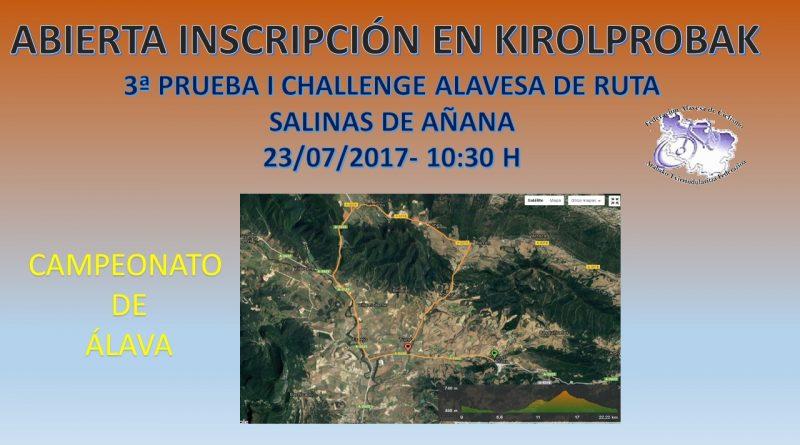 Resultado de imagem para 4ª Prueba de la Challenge Alavesa en Salinas de Añana
