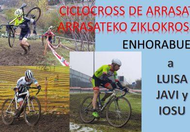 LUISA IBARROLA, LARRI Y JOSU ISASI GANAN EN ARRASATE y otros alaveses se acercan al podium en sus respectivas categorías.