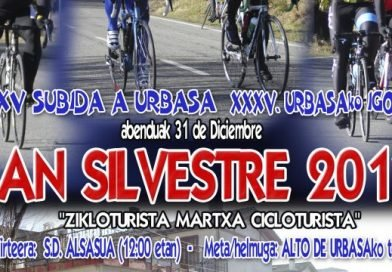 MARCHA SAN SILVESTRE -ALSASUA