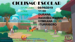 11ª PRUEBA JDE - 2019