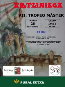 III CHALLENGE ALAVESA DE RUTA - VII TROFEO MASTER ARTZINIEGA